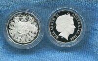 2008 SILVER Proof 50 Cent Coin Australia Ex Fine Silver Set