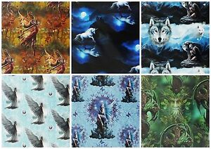 New Anne Stokes Fantasy Art Work Sheet Gift Wrap Wrapping Paper 42cm x 59cm