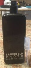 *DISCONTINUED*Lagerfeld PHOTO 5ML Spray Glass Decant EDT SAMPLE