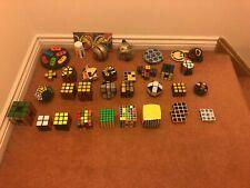 10 year Rubik's Cube & Puzzle Collection (Job Lot) Collectors Rare Vintage