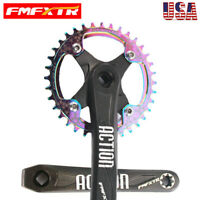 FMFXTR 104/64 BCD MTB Bike Crankset 30-38T Colorful Single Narrow Wide Chainring