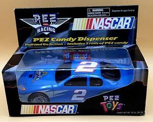 2003 NASCAR #2 RUSTY WALLACE PEZ RACING CANDY DISPENSER RACE CAR