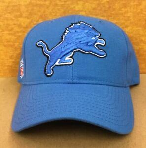 Vintage NOS Detroit Lions NFL Adjustable back with name NWT Football Cap Hat