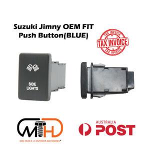 SUZUKI JIMNY 2019 2020 JB74 PUSH SWITCH LED Side Light Bar BLUE Work light