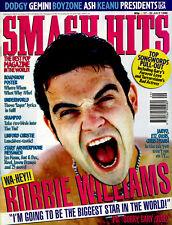 SMASH HITS 1996 DODGY ROBBIE WILLIAMS STEPHEN GATELY PRESIDENTS OF USA DOGSTAR