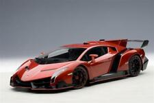 1/18 Autoart Lamborghini Veneno Rare Metallic anniversary Red