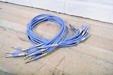 10 Neutrik 2' TT patch cables in excellent condition