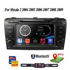"For Mazda 3 2004-2009 7"" HD Car DVD Radio GPS Navi Bluetooth Touch Screen Player"