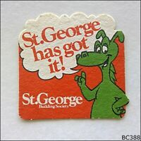 St George Building Society has got it! Coaster (B388)
