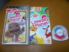 LITTLE BIG PLANET  VF PSP boite cd  livret
