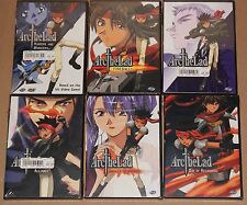 ARC THE LAD 6 DVD COMPLETE SET Vol. 1,2,3,4,5,6 ADV Films ANIME R1 BRAND NEW