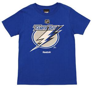 Reebok NHL Youth (8-20) Tampa Bay Lightning Team Shirt, Blue
