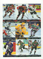 2004/05 Upper Deck Hockey All-World Complete Base Set! 1-90 Loaded with Stars!!