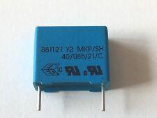 4 Stück Epcos Kondensator B81121 Y2 MKP/SH Neu 40/085/21/C