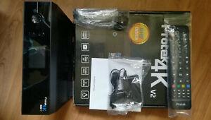 Protek 4K UHD Sat-Receiver mit 2160p E2 Linux