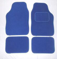 BLUE TAPPETINI AUTO PER VW JETTA LUPO PASSAT POLO SCIROCCO UP