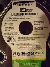 Western Digital 500GB Internal Hard Drive WD5000AVVS-63ZWB0 DCM: DHNCHTJAGB