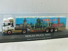 HERPA SCANIA SATTELZUG BERLIN-TRUCK 1997  / X1955