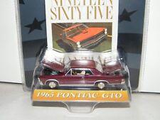 Ertl American Muscle 1:64 Limited. Edition. 1965 Pontiac GTO Die Cast Metal Car