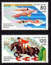 Germany Berlin 1986 Sports Aid Mi. 751-52, Scott 9NB 232-33 superb MNH