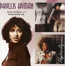 Living All Alone & Prime of My Life by Phyllis Hyman 2 CDs Import UK Like New