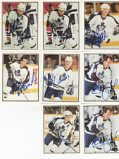 [C] 1988-89 Toronto Police MAPLE LEAFS Auto lot of 26