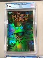 The Muppet Show Comic Book #1 Boom Holofoil Variant Limited to 500 CGC 9.6 NM+