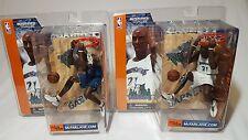 NBA Kevin Garnett series 1 McFarlane variant  & regular figures. 2 pack lot!