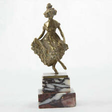 Carl Kauba Bronze of a Dancing Lady Vienna C1900
