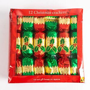 Coffret De 12 Tesco Noël Crackers