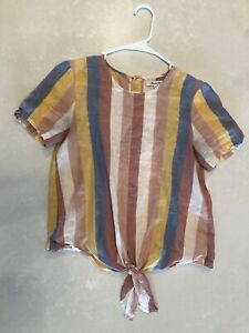 Multicolor Striped Madewell Shirt