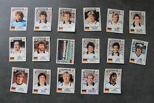 Panini - World Cup Story - Espana 82 - Complete team Germany