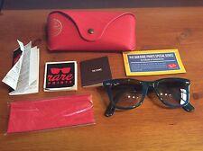 Ray-ban Rare 2010 Print  Rb2140 1042/32 Wayfarer Sunglasses