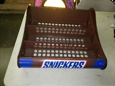 Heavy Metal Store Counter Top SNICKERS Candy Bar Display Rack Concession