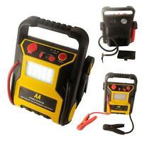 AA 12V 600A Car Van Battery Jump Starter Start Booster Compressor LED Power Pack