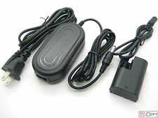 8V AC Adapter Supply For ACK-E6 Canon EOS 5D Mark II III EOS 6D 7D 60D 60Da 70D