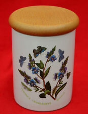 VINTAGE PORTMEIRION!   SMALL STORAGE JAR / WOODEN LID  - LOVELY CONDITION