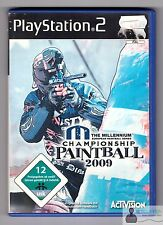 PLAYSTATION ps2-The Millennium Championship Paintball 2009-COMPLETO IN SCATOLA ORIGINALE