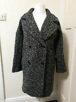 BNWT La Redoute Wool Mix Winter Coat Soft Grey Size 16