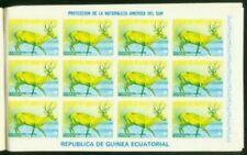 Equatorial Guinea 1977 Deer 3e proofs (x96)