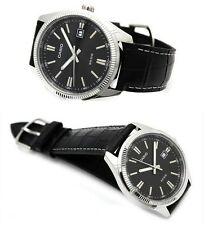 CASIO DATE ANALOG LEATHER DRESS COUPLE LOVER PAIR WATCH MTP/ LTP-1302L-1A GIFT