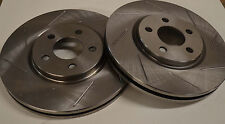 Dodge Neon SRT/4 04 05  Sloted Rotors F+R