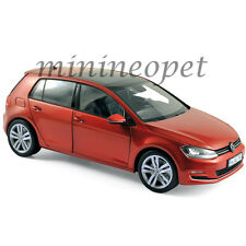 NOREV 188517 2014 14 VW VOLKSWAGEN GOLF 1/18 DIECAST MODEL CAR RED METALLIC