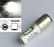 MOTO ATV BIKE QUAD 395 Xenon WHITE H6M BA20D 50W CREE LED HIGH POWER Bulb lamp