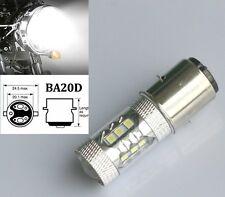 MOTO ATV BIKE QUAD 395 Xenon WHITE H6M BA20D 50W CREE LED HIGH POWER Bulb lamp