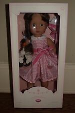 "Nib Pottery Barn Kids Limited Edition Gotz 18"" Peyton Birthday Girl doll special"