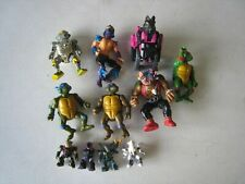 Vintage TMNT Action Figures Transformer and more Action Figures Lot #W7