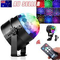 Disco Party DJ LED RGB Stage Effect Strobe Lights Lamp Laser Crystal Magic Ball