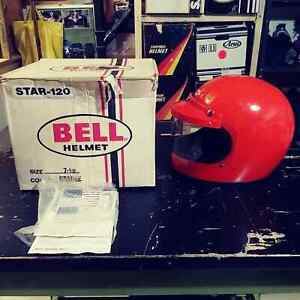 Vintage NOS OEM original Bell star 120 Rare orange