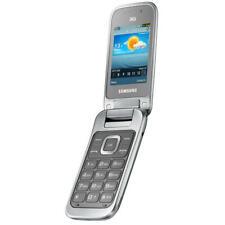 Original Samsung C3595 Unlocked 3G Flip Fold Camera Bluetooth Mobile Phone